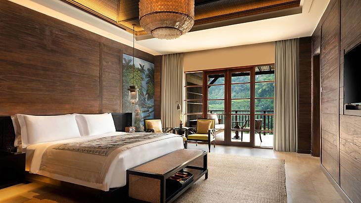 mandapa ubud, hotel romantis