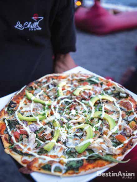 Menu piza di La Chill.