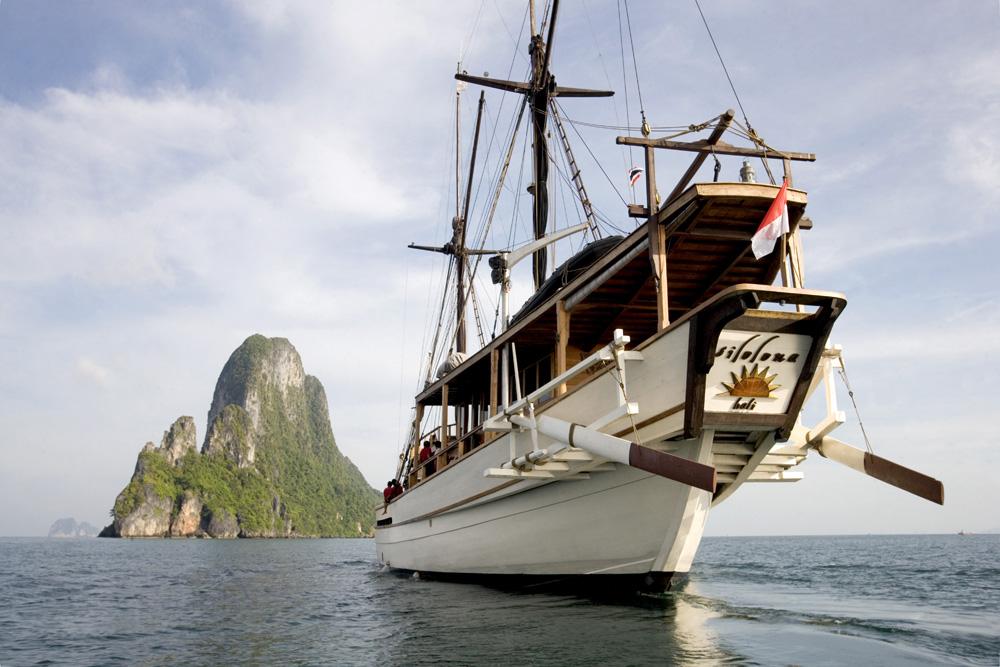 Kapal Silolona Soujorn yang pernah disewa oleh Gwyneth Paltrow.