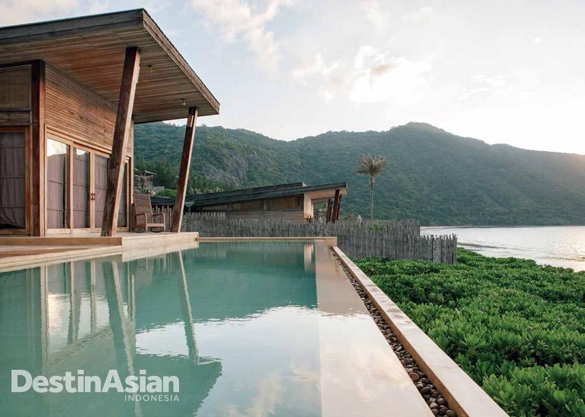 Six Senses Con Dao, resor yang pernah ditinggali oleh Angelina Jolie. (Foto: Muhammad Fadli)