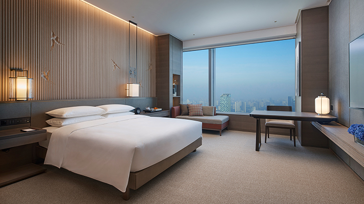 1-King-Bed-Deluxe Grand Hyatt Hefei 1