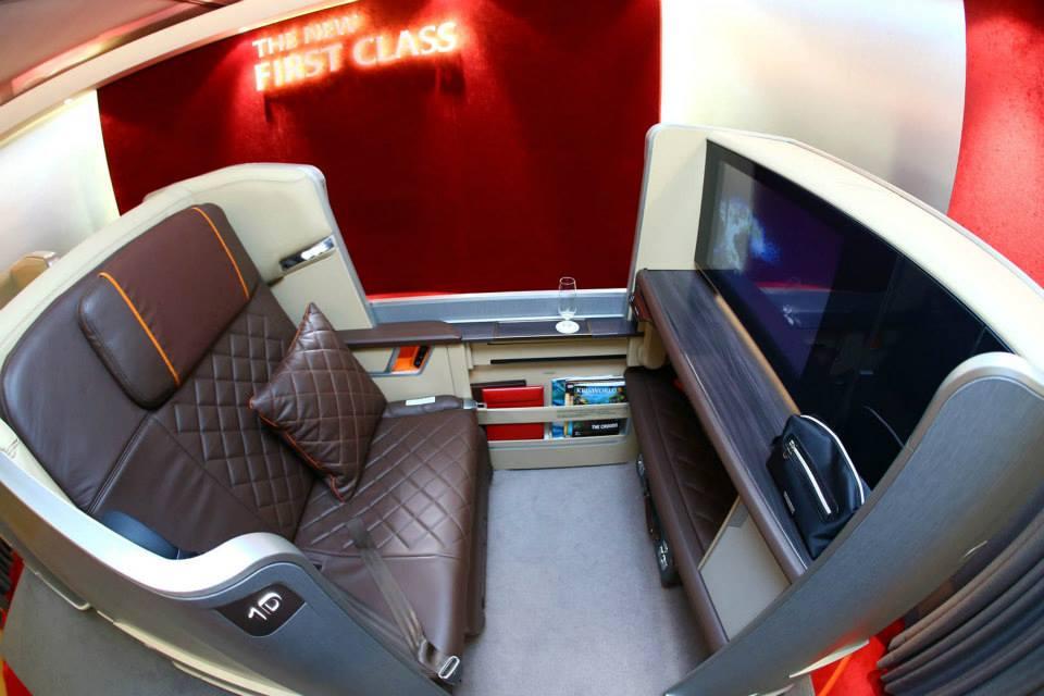 Fasilitas mewah di udara layaknya pesawat pribadi. (Foto: Singapore Airline)