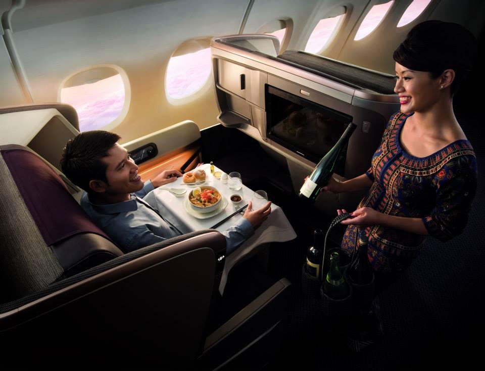 Penumpang kelas premium kini bebas memilih kopi Illy apapun di dalam penerbangan Singapore Airlines.