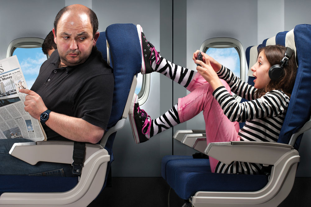 Salah pilih kursi bisa berakibat mimpi buruk sepanjang perjalanan. (Foto: Getty Images)