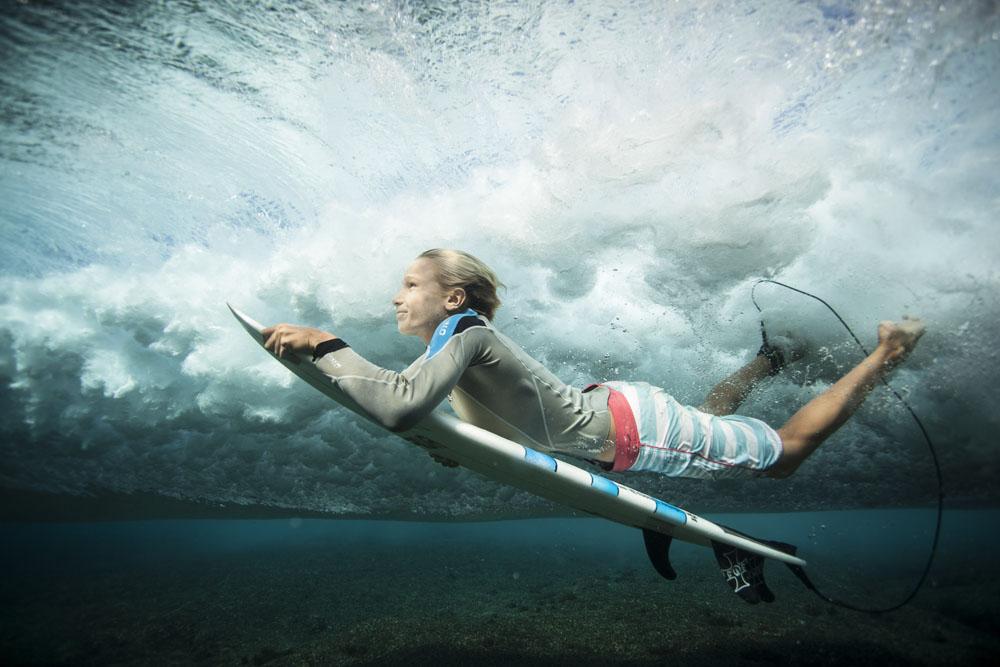 Foto bawah air karya Luke Henkel asal Australia. Foto diambil di Lake St. Claire di negara bagian New South Wales.