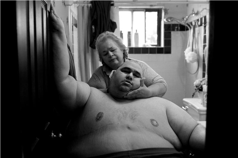 Dinominasikan dalam kategori Contemporary Issues. Fotografer Amerika Serikat, Lisa Krantz, mempersembahkan karya tentang obesitas di Negara Paman Sam. (Lisa Krantz—2015 Sony Worl Photography Awards)
