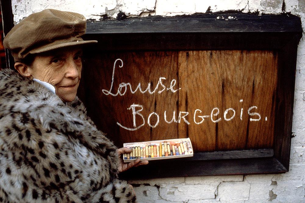 Louise Bourgeois yang dijuluki