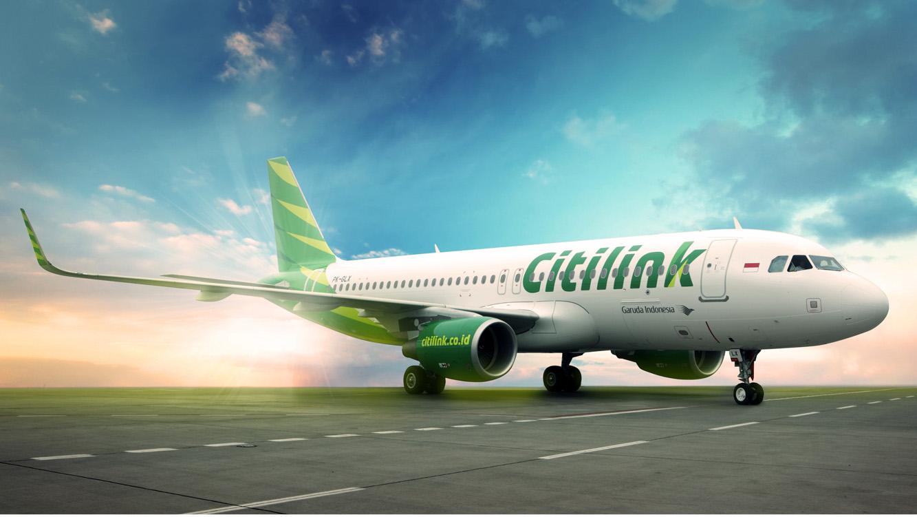 Rute Surabaya-Johor Bahru akan dilayani oleh Airbus A320.