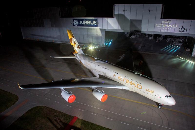 Pesawat baru ini akan melayani rute Abu Dhabi-London.