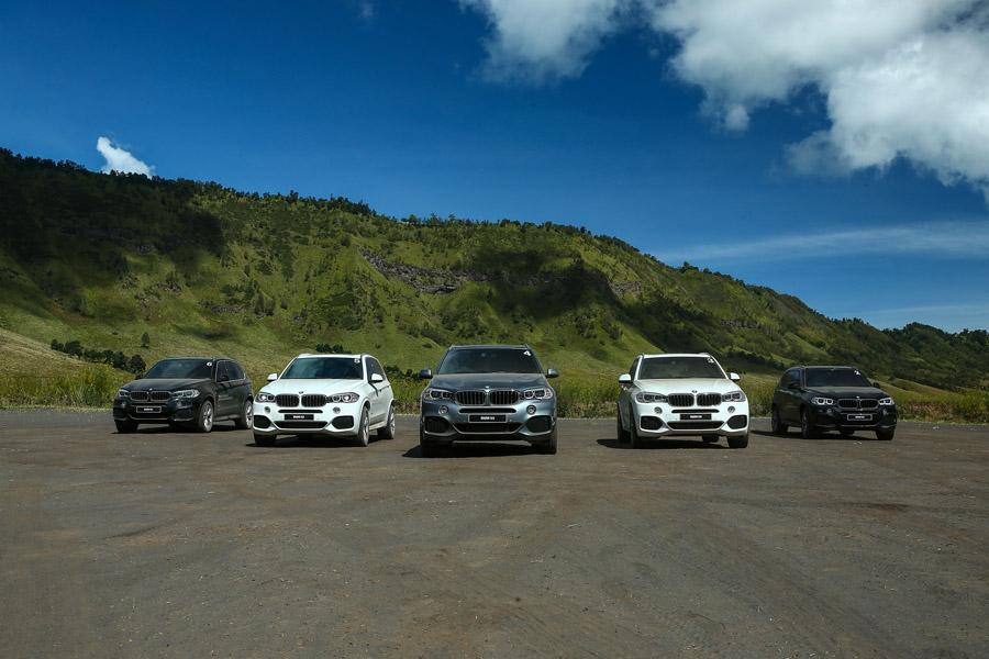 Mobil BMW SAV, X Model Range yang tangguh melewati segala medan.