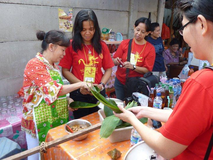 Wisata kuliner yang menjadi bagian dari kegiatan jelajah Jejak Petjinan.