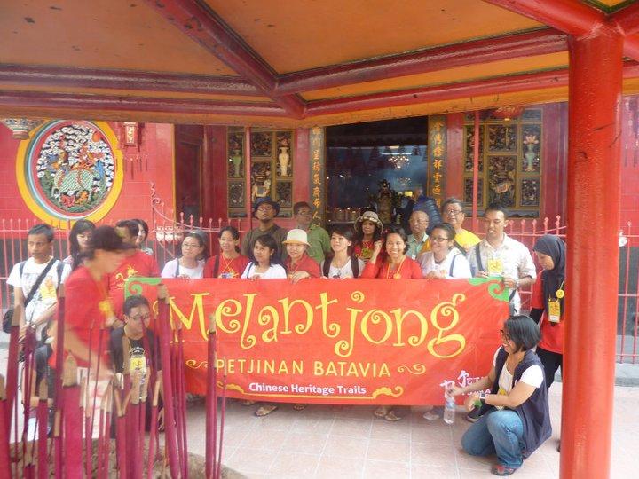 Kegiatan bersama komunitas Jejak Petjinan.
