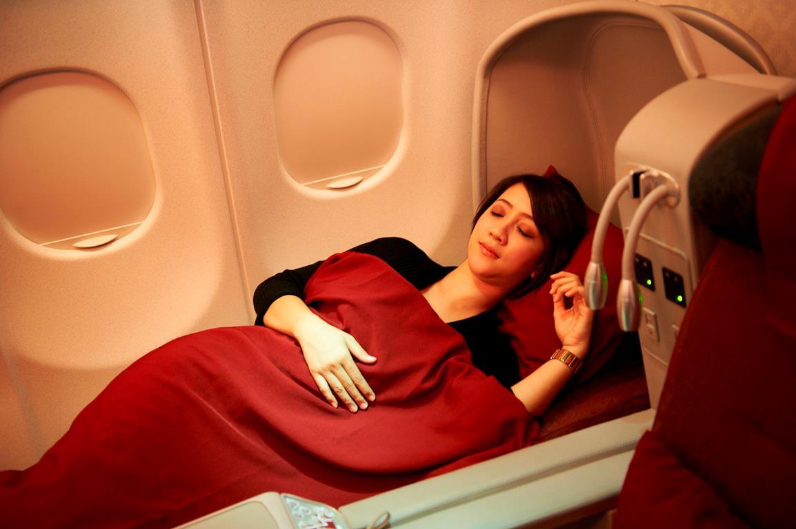 Kenyamanan prima di Premium Class Garuda Indonesia