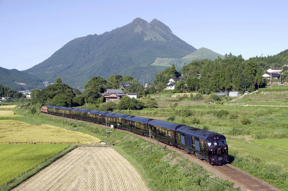 Pemandangan alam Kyushu.