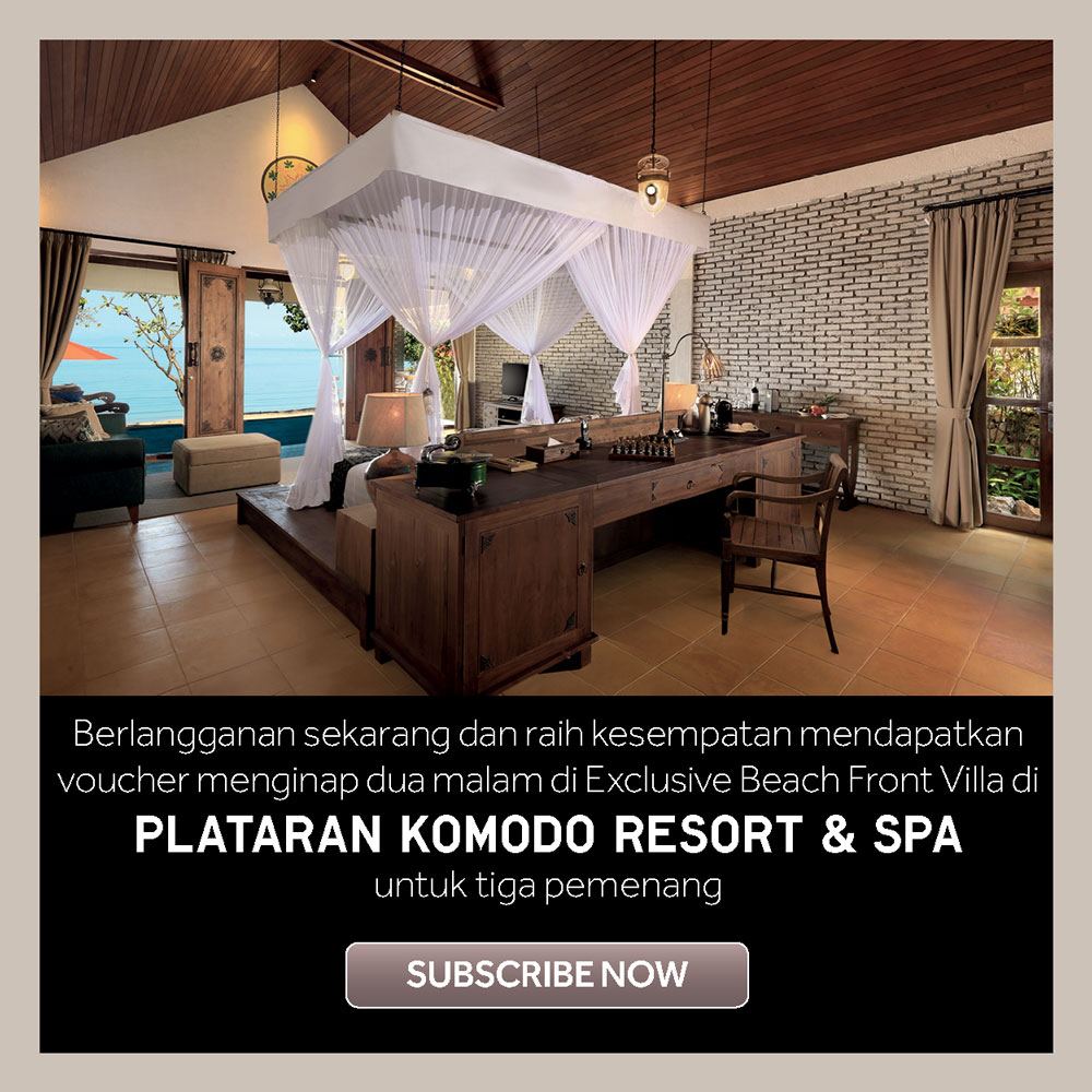 Subscribe DestinAsian Indonesia