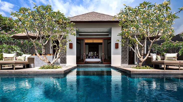 5.One Bedroom Beachfront Pool Villa Exterior