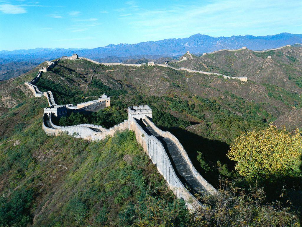 Tembok Raksasa Cina bisa dinikmati peserta di hari kelima.