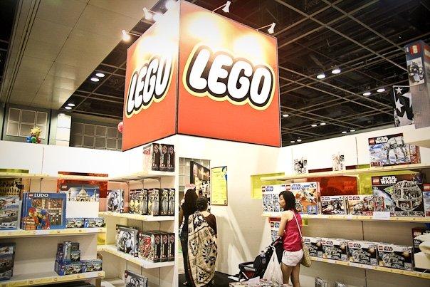 Stand Lego di SGTCC 2012.