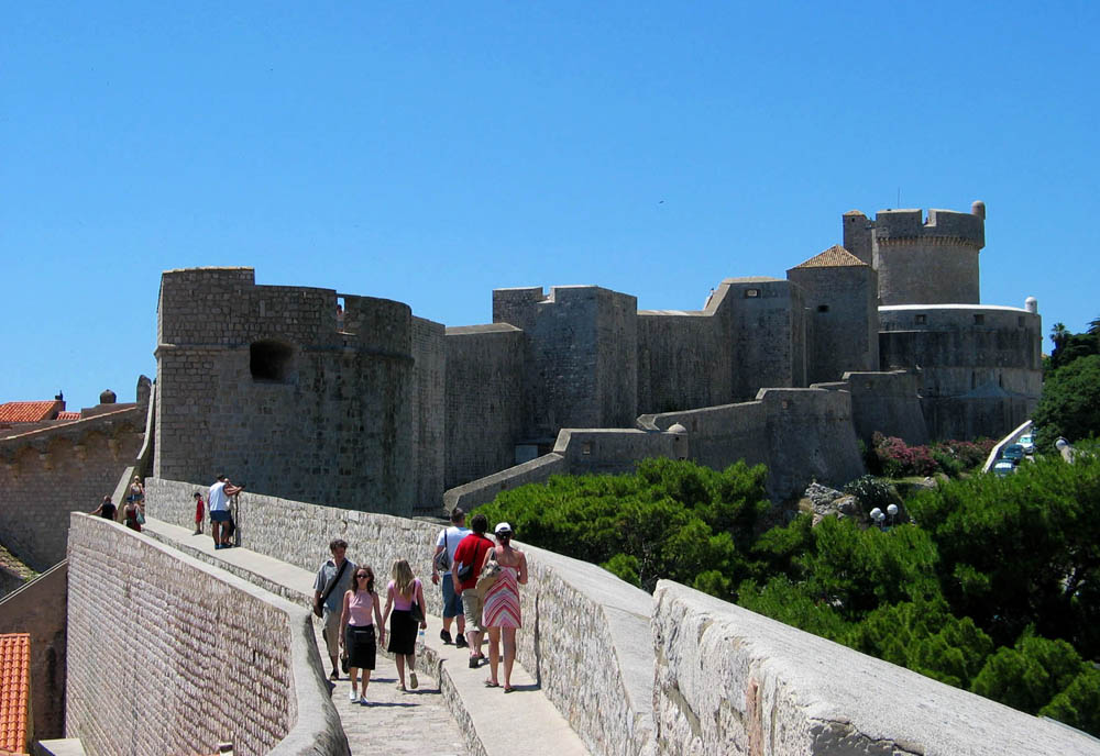 Sisi lain Walls of Dubrovnik.