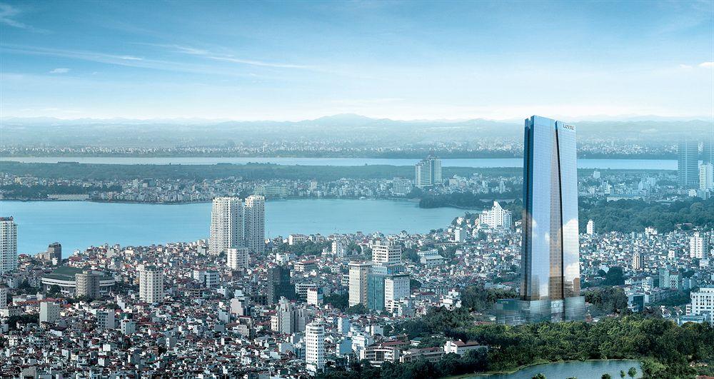 Lotte Centre adalah gedung baru di Hanoi dan merupakan yang tertinggi.