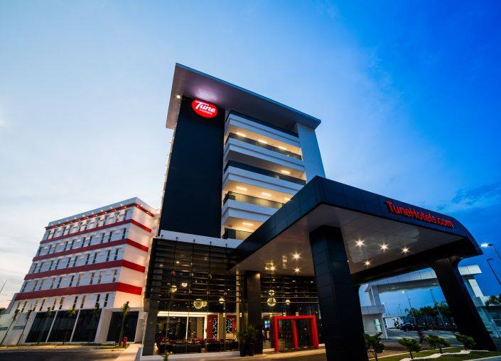 Hotel Tune klia2 yang siap buka pada 9 Mei 2014.