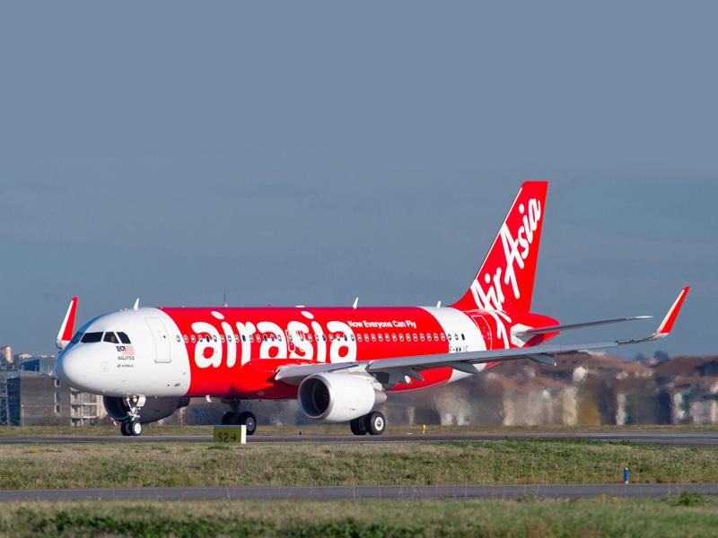 Rute Kuala Lumpur-Pattaya dioperasikan menggunakan armada Airbus 320.