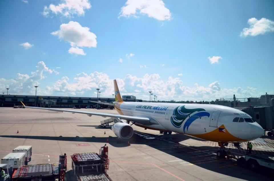 Pesawat Airbus A330-300 di Bandara Changi, Singapura. (Foto: Changi Airport)