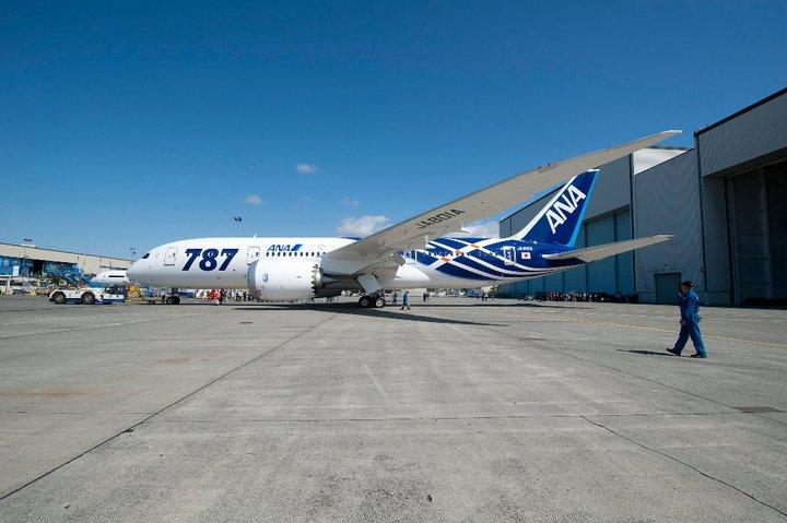 Armada Boeing 787 Dreamliner milik ANA. (Foto: The Boeing Company)