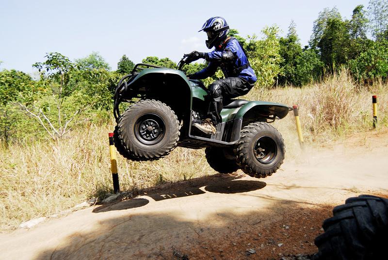 All Terrain Vehicle atau ATV yang bisa dipakai oleh tamu.