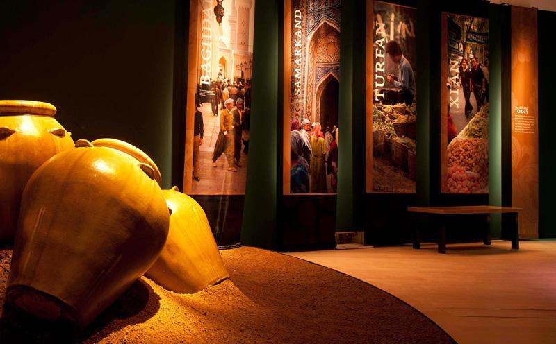 Salah satu sudut ArtScience Museum yang akan diubah selama pameran Dinosaurs: Dawn To Extinction.