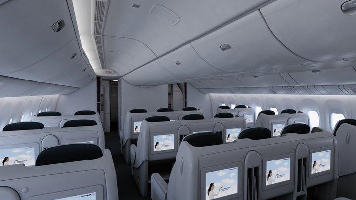 Desain kabin kini lebih mewah dan modern.