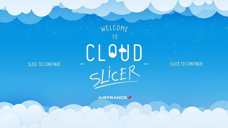 Permainan Cloud Slicer yang bisa diunduh ke ponsel pintar Anda.