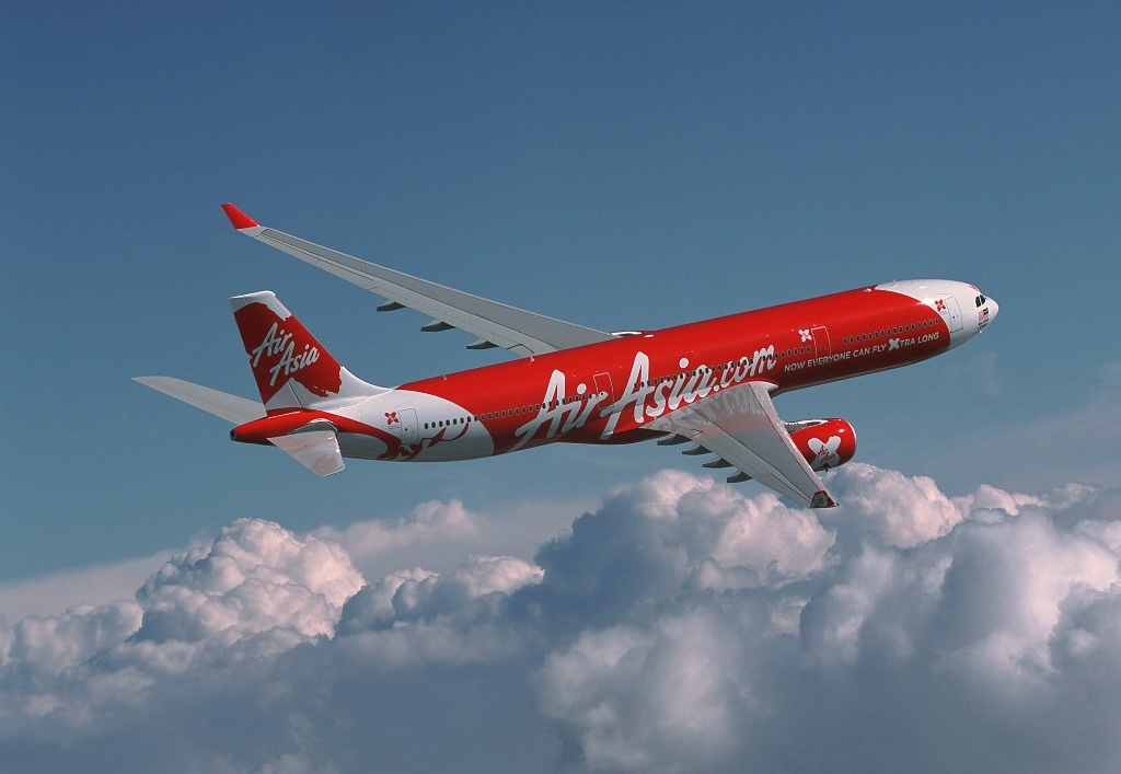 Penerbangan Kuala Lumpur-Narita, Tokyo dilayani armada Airbus 330.