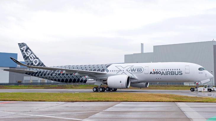 Airbus 350 yang digadang bakal menjadi primadona di dunia aviasi.