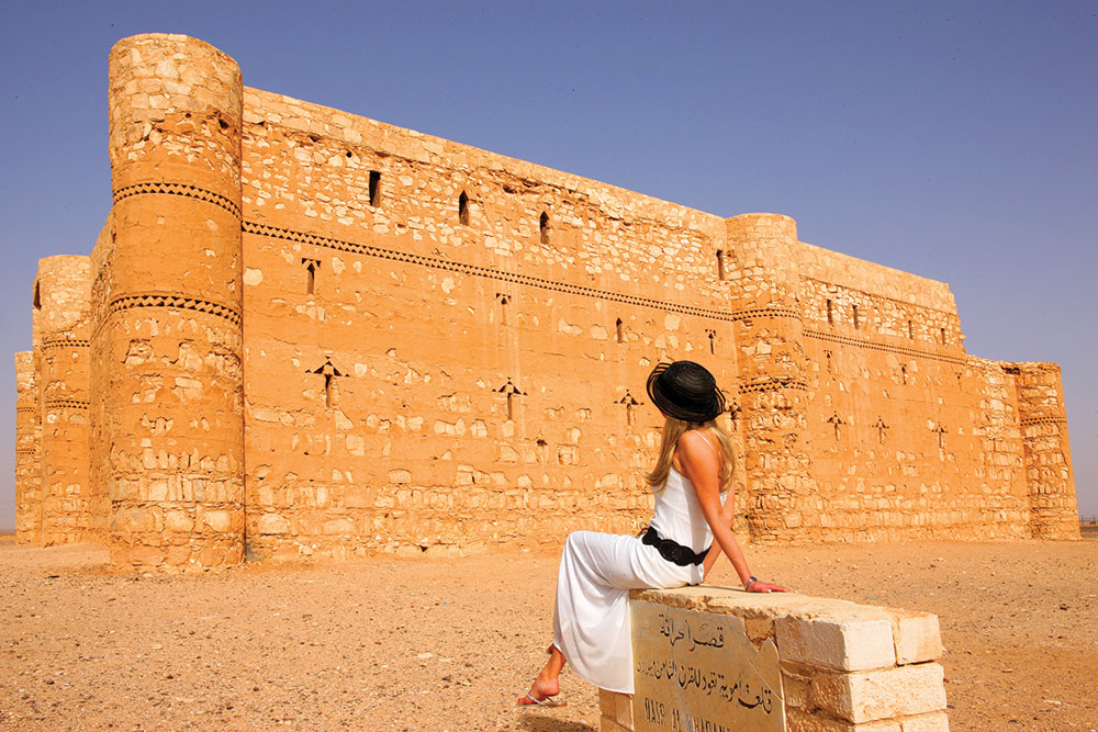 Al Harrana, salah satu kastel di Dessert Castles.