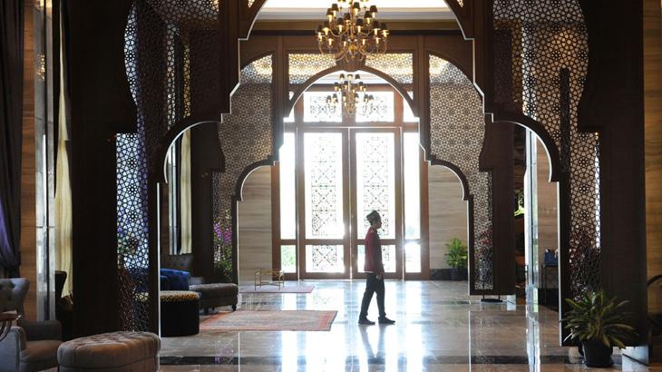 Al Meroz Hotel - lobi