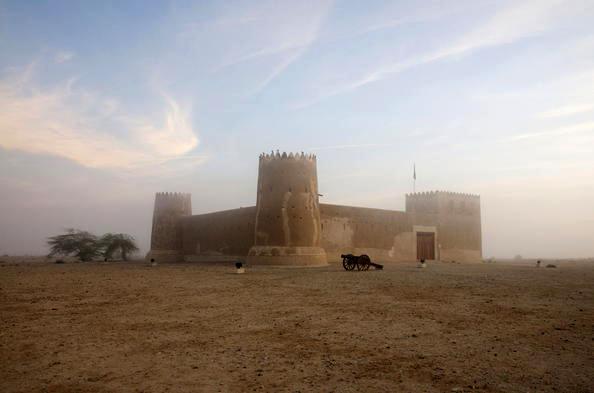 Situs arkeologi Al Zubarah.