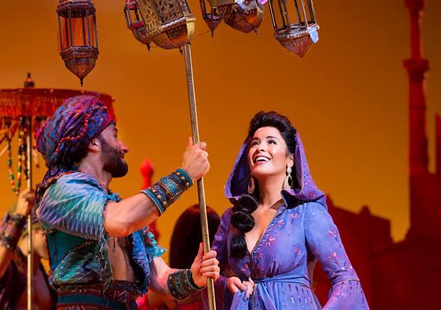 Aladdin The Musical menjadi salah satu pertunjukan broadway paling ditunggu di 2014.