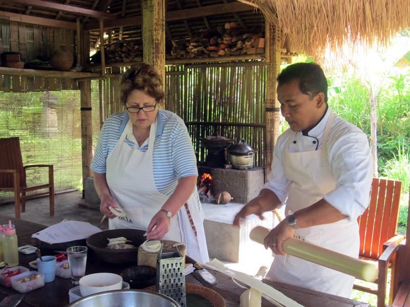 Sesi Organic Garden Cooking.