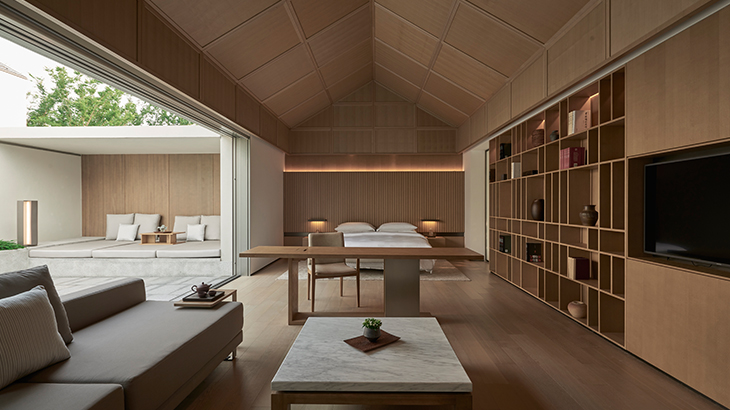 Alila Wuzhen - Accommodation - Garden Villa - Bedroom