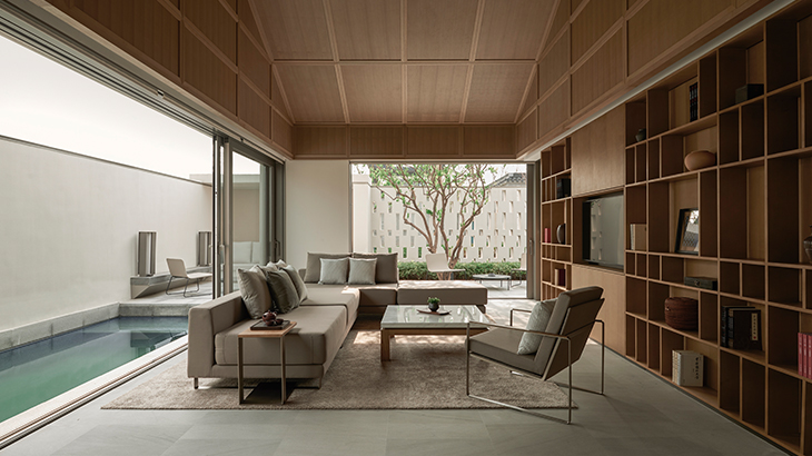 Alila Wuzhen - Accommodation - Pool Villa - Living Room