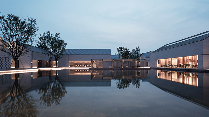 Alila Wuzhen - Facilities - View from Lobby Reception