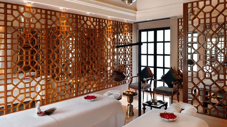 Interior spa di Amanbagh.