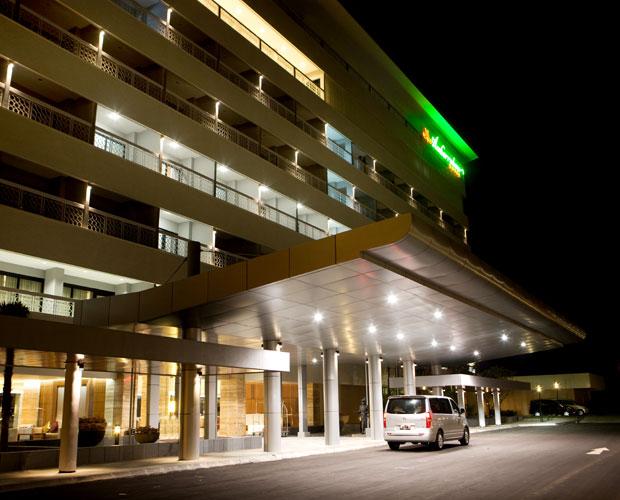 Fasad Hotel Royal Ambarrukmo Yogyakarta.