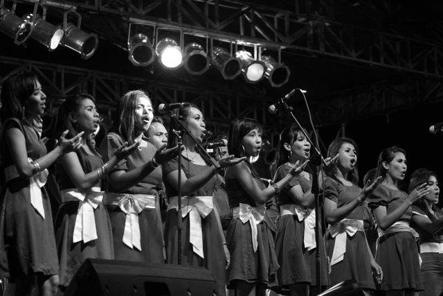 Selain jazz, genre musik lain juga ditampilkan di Ambon Jazz Plus Festival.  (Foto oleh Ambon Jazz Plus Festival)