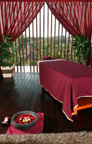 Salah satu ruangan spa di Anantara Spa.