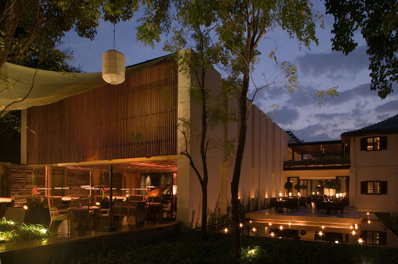 The Restaurant, salah satu dari empat gerai makan dan minum di Anantara Chiang Mai Resort & Spa.