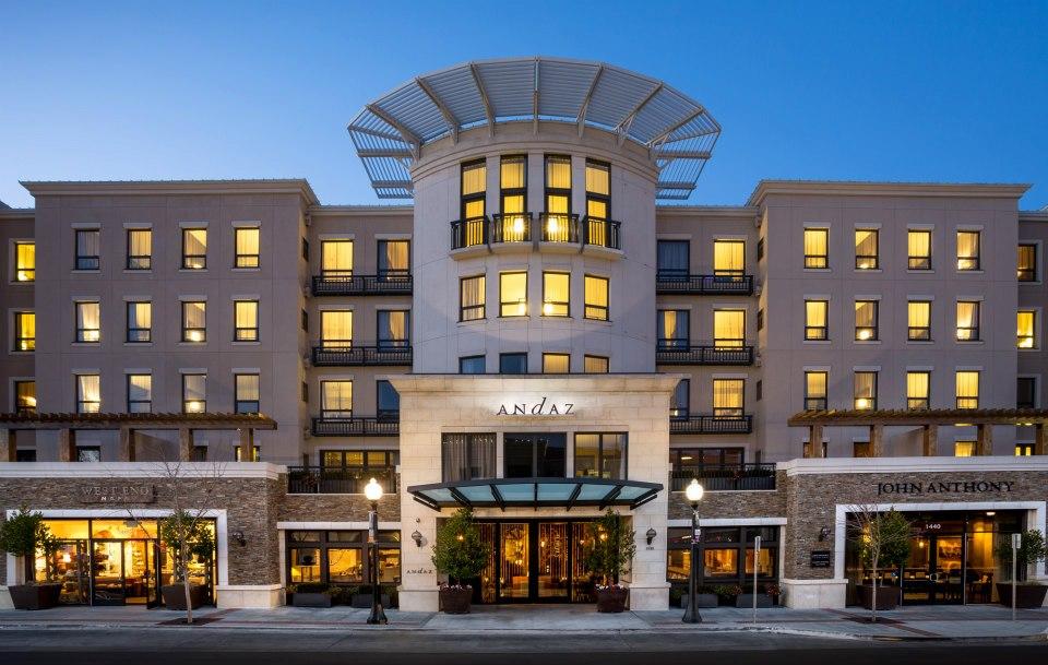 Andaz Napa--Andaz adalah merek hotel butik luks yang merupakan bagian dari Hyatt Hotels.