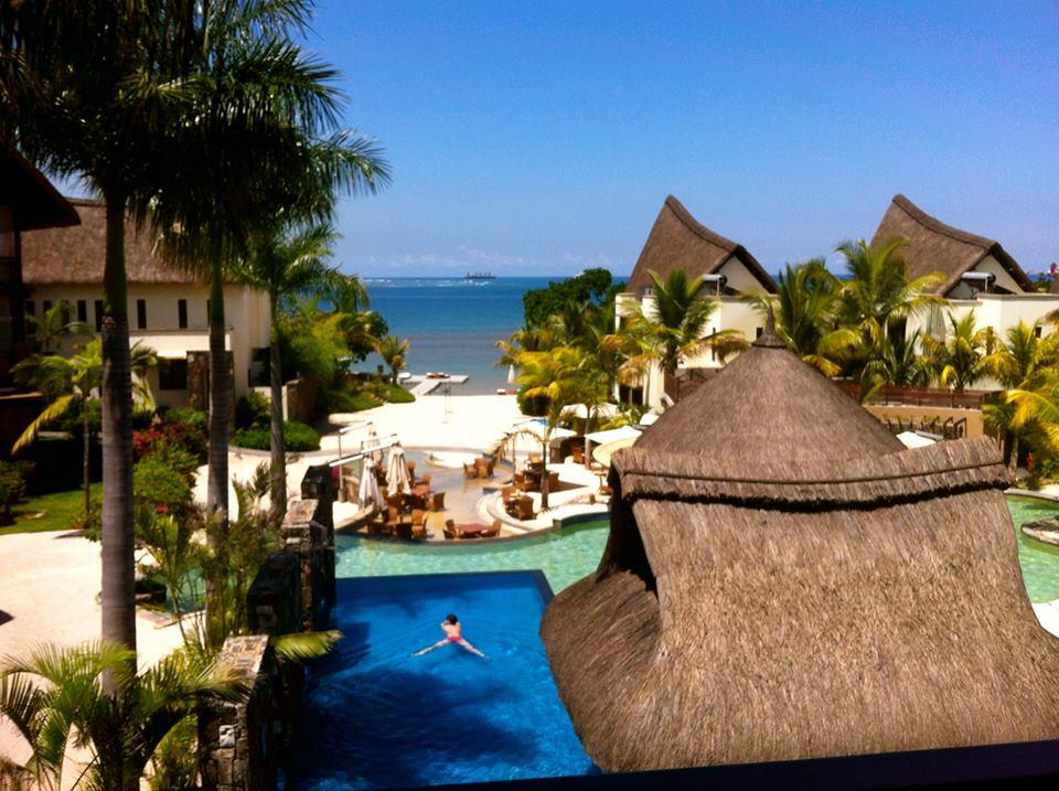 Angsana Balaclava Mauritius yang eksotis.