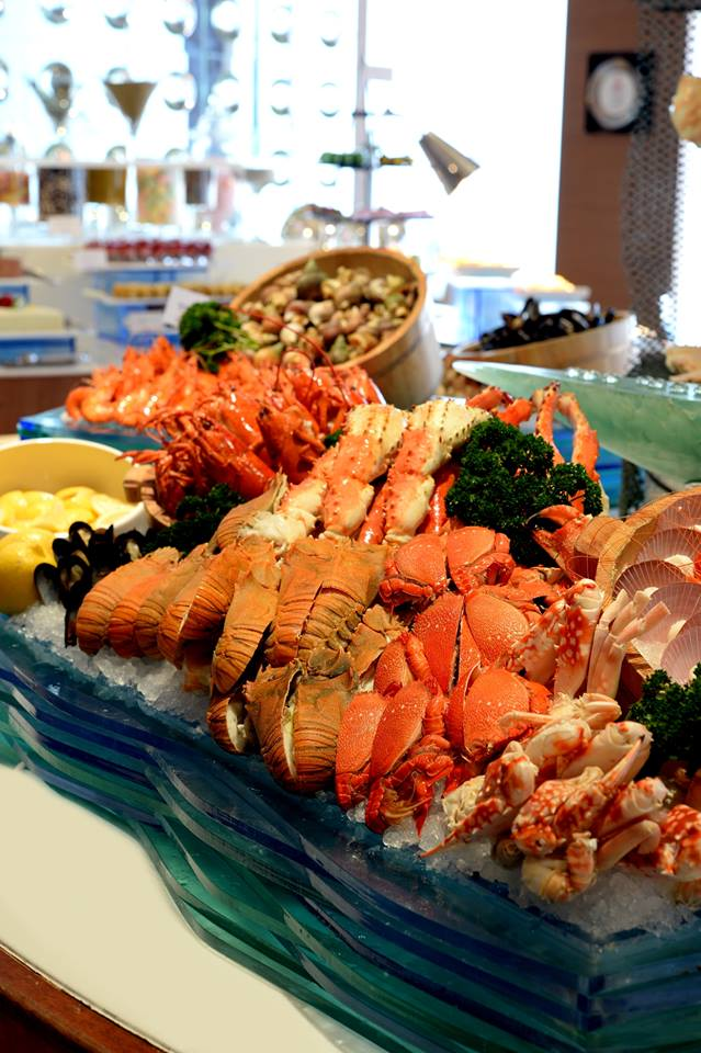 Sajian seafood premium segar yang menjadi andalan AquaMarine.
